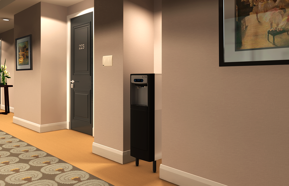 7 Series freestanding in executive hallways