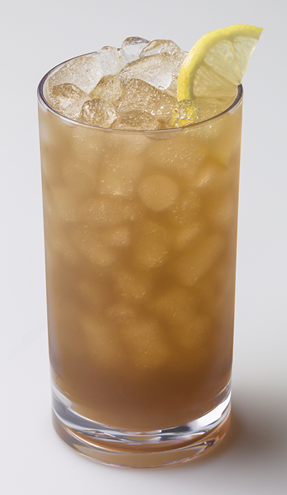 iced tea with Chewblet ice