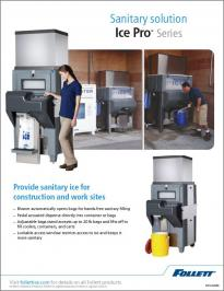 Ice Pro Sanitary Solution for Worksites