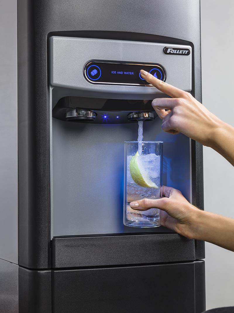 15 Series Ice and Sparkling Water Dispenser