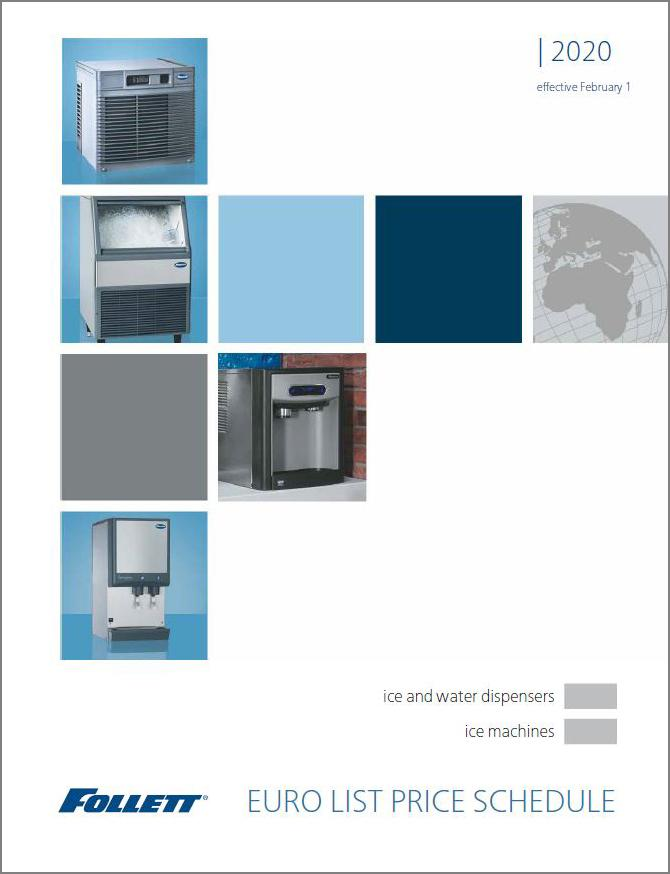 ice machines and dispensers price list Euros