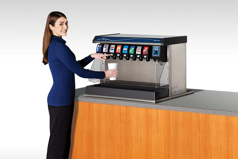 Vision-ice-beverage-dispenser