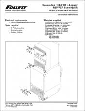 Stacking Kit for Countertop REF/FZR to Undercounter REF/FZR