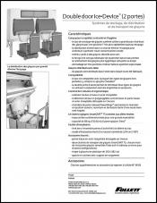 Double door Ice DevIce ice storage and dispensing systems (French)