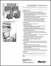 Double door Ice DevIce ice storage and dispensing systems (Italian)
