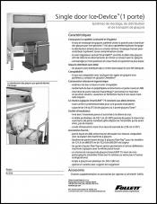 Single door Ice DevIce ice storage and dispensing systems (French)