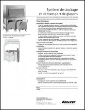 Ice Storage and transport systems with SmartGATE ice shield (French)