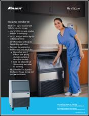 Maestro Plus Ice Machine Bin for Healthcare