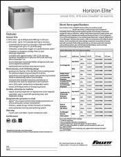 Horizon Elite Chewblet ice machine - remote condensing 1010/1410 series