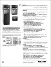 15 Series Countertop and Freestanding Ice and Water Dispensers