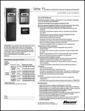 15 Series Countertop and Freestanding Ice and Water Dispensers (French)