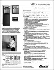 7 Series Countertop and Freestanding Ice and Water Dispenser (French)