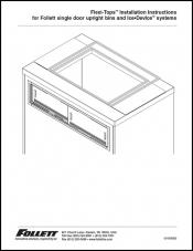 Flexi-Top for single door upright bins and Ice DevIce