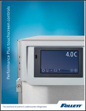 Performance Plus Touchscreen Controls Refrigeration