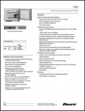 FZR1 Medical-Grade Countertop Freezer