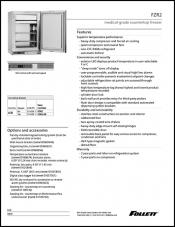 FZR2 Medical-Grade Countertop Freezer