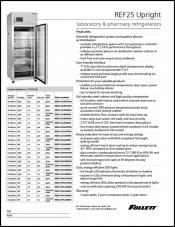 REF25 Upright Laboratory and Pharmacy Refrigerator