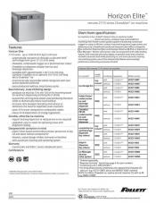 Horizon Elite Chewblet Ice Machine - remote condensing 1810 and 2110 series
