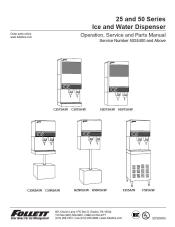 25 and 50 Series Ice and Water Dispensers
