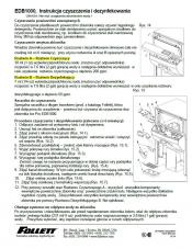 EDB1000 Cleaning Instructions