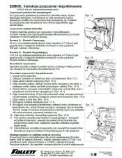 EDB650 Cleaning Instructions