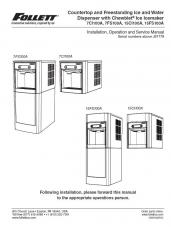 7 Series and 15 Series Countertop and Freestanding Ice and Water Dispensers