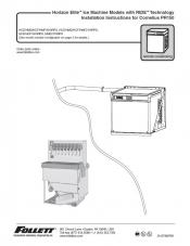 Horizon Elite Ice Machine 1810 and 2110 Models with RIDE Technology Installation Instructions for Cornelius PR150