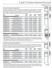 7 and 15 Series Volume Price List