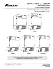 FZR4P and FZR5P and FZR5PLP-T Performance Plus Undercounter Freezer models after serial number K25541