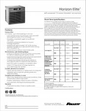 Horizon Elite self-contained 710 series Chewblet ice machine