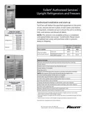 Follett Authorized Services for Full Size Refrigerators and Freezers
