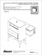 Horizon Elite Ice Machine 1810/2110 Models with RIDE Technology Installation Instructions for Ice Storage Bins