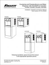 7 Series and 15 Series Countertop and Freestanding Ice and Water Dispensers serial numbers J57179 to K39469