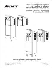 7 Series and 15 Series Countertop and Freestanding Sparkling Water and Ice Dispensers before serial number K39469