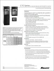 C15 Series countertop and freestanding ice and water dispensers