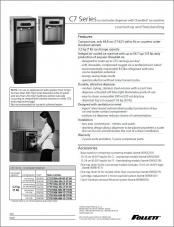 C7 Series countertop and freestanding ice and water dispensers