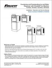 7 Series and 15 Series Countertop and Freestanding Ice and Water Dispensers with serial numbers K39469 to K46456