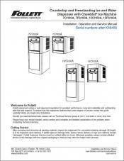 7 Series and 15 Series Countertop and Freestanding Ice and Water Dispensers above serial number K46456