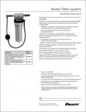 Bacterial-Retentive Water Filter System