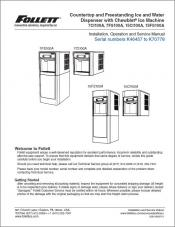 7 Series and 15 Series Countertop and Freestanding Ice and Water Dispensers serial numbers K46457 to K70778