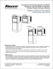 7 Series and 15 Series Countertop and Freestanding Ice and Water Dispensers serial numbers above K70778