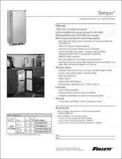 Tempo Undercounter Ice Machine Bin