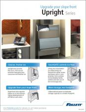 upright storage bin sell sheet