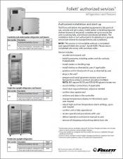 Follett authorized services spec sheet