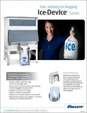 Fast Sanitary Bagging - Ice DevIce