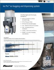 Ice Pro Automatic Ice Bagging and Dispensing System