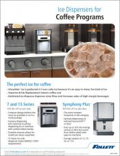 Ice Dispensers for Coffee Programs