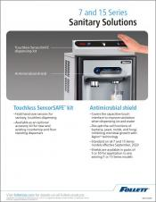 Sanitary Solutions - 7 and 15 Series
