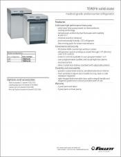 TEREF6 solid-state medical-grade undercounter refrigerator