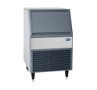 Integrated icemaker bin